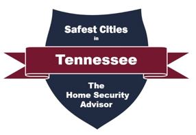 Safest Cities in Tennessee 2019 digital badge