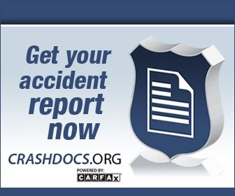 CARFAX Banner linking to the page where you can request Spring Hill Police Department traffic crash